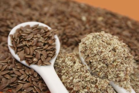 FOODS WITH OMEGA-3 FATTY ACIDS | Ground Flaxseed | 1 ounce of ground flaxseed has 1.8 grams (1800 milligrams) of EPA and DHA