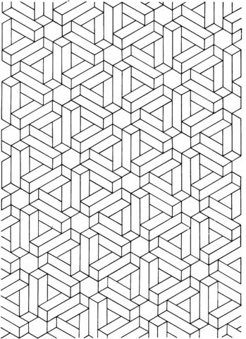 Optical Illusion 13 coloring page from Optical illusions ...
