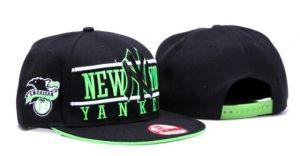 Casquette NY New York Yankees MLB Snapback American Vert : Casquette Pas Cher