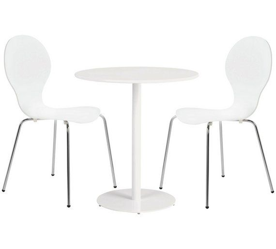 Buy Habitat Kelby White Table & 2 Scout Chairs at Argos.co.uk, visit Argos.co.uk to shop online for Dining sets, Dining room furniture, Home and garden