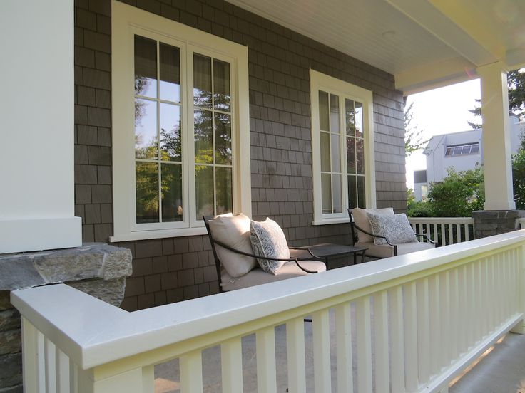 Exterior paint - Benjamin Moore Fairview Taupe (HC-85) and Benjamin Moore Mascarpone (AF-20)