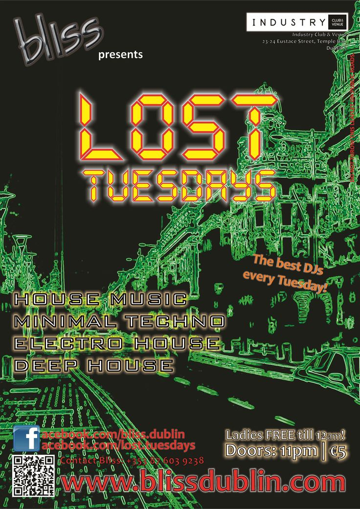 2012.11 Lost Tuesdays Poster