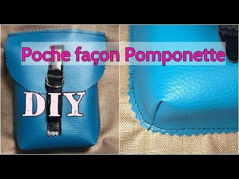 Coudre une Poche façon Pomponette - Tuto Couture Débutant - DIY - YouTube