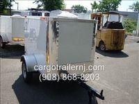 4x6 Small Enclosed Cargo Trailer NJ - Cargo Trailer NJ