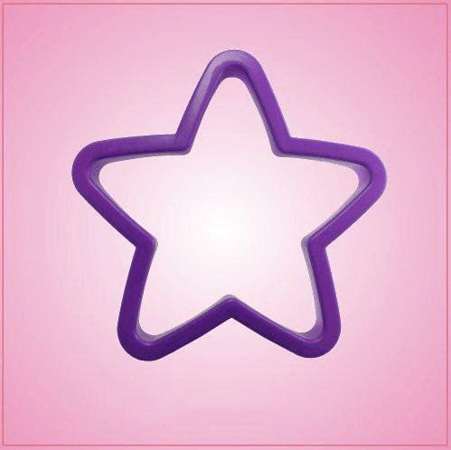 Purple Star Cookie Cutter