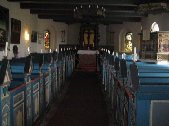 Kirche auf Hallig Hooge
