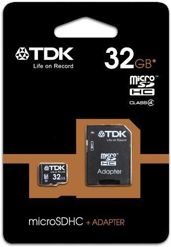 TDK 946501 - Memory Card Micro SD 32GB + Adapter