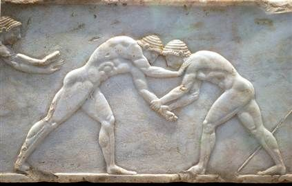 ancient olympic wrestling - Google Search