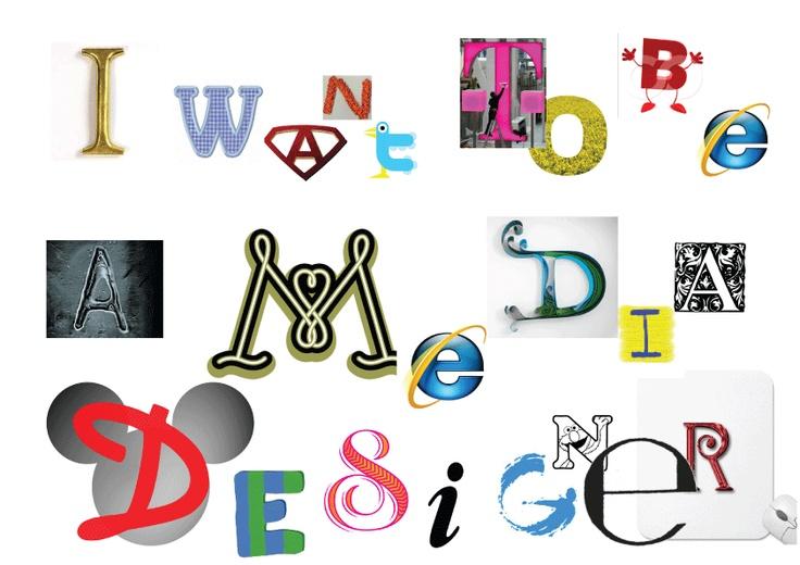제 꿈은 미디어 디자이너입니다.  아직은 정확히 뭐가 하고 싶은지 모르겠지만 확실한건 영상매체쪽으로 가고 싶습니다.