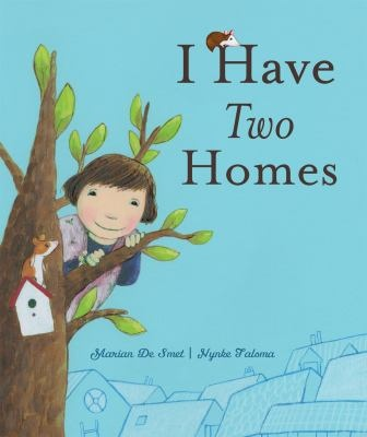 I HAVE TWO HOMES by MARIAN DE SMET. A young girl named Nina recounts her feelings about her parents' divorce and describes what it is like to live in two households in this touching picture book. Everything is different from the way it was, and sometimes the behavior of the adults around her is upsetting to Nina. This honest, uncomplicated account of divorce from a child's point of view will reassure and comfort young readers who are experiencing the changes that divorce brings to a family.