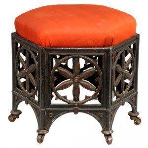 Elegant Gothic Furniture #blackmodernfurniture