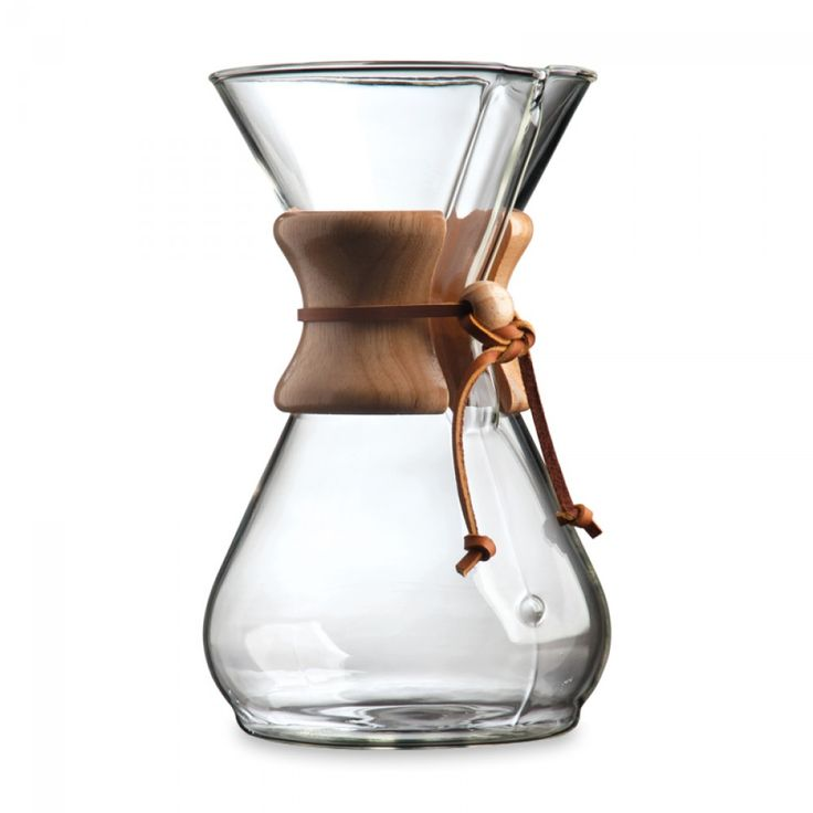 Chemex® CM-8A Classic Series 8-Cup Coffeemaker | Makes perfect, pure coffee! This simple, easy to use coffee maker with an elegant design is a great gift idea.
