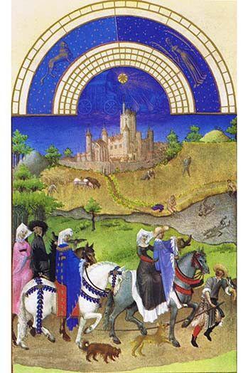Le Tres riches heures du Duc de Berry - August