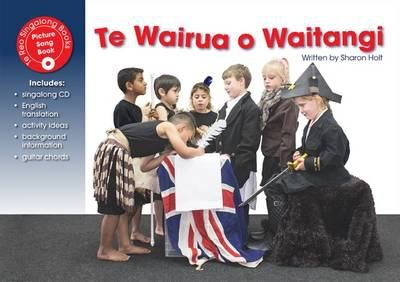 A song introducing the Treaty of Waitangi and how to honour and enact it. Children are encouraged to care for people, keep marae warm and living, enact tikanga, welcome guests, revive te reo, protect the land, care for the birds, save the trees, care for the rivers, and honour the spirit of Waitangi. Includes guitar chords.
