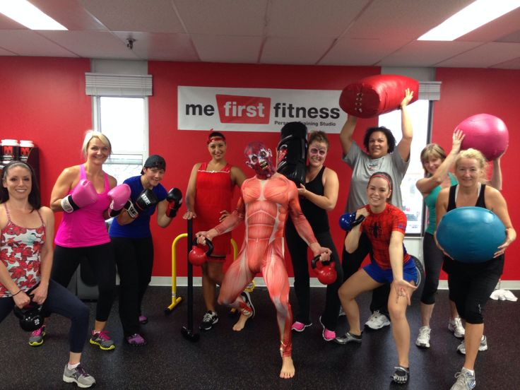 Halloween Bootcamp workout at MeFirstFitness.