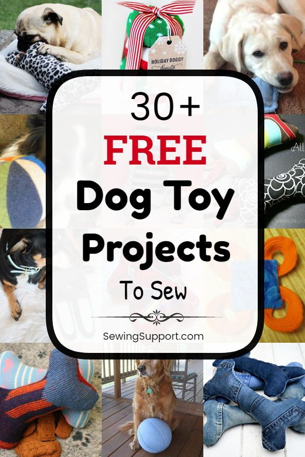 Dog Toy Diy 30 Free Dog Toy Diy Projects Tutorials And Sewing