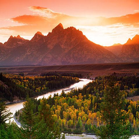 Top Sunset Views in Jackson Hole