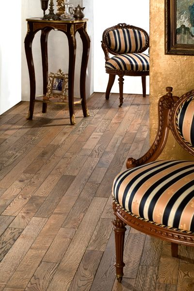 French Estate Brushed Oak Flooring From Country Collection By Coswick Is Available As Solid And Engineered