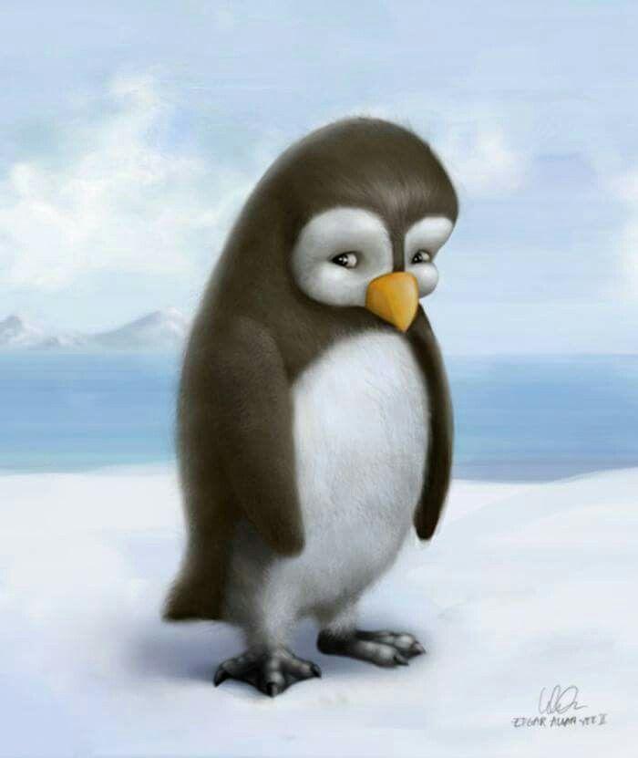 Le pingouin perdu edgar allan yee precious peguins - Pingouin rigolo ...
