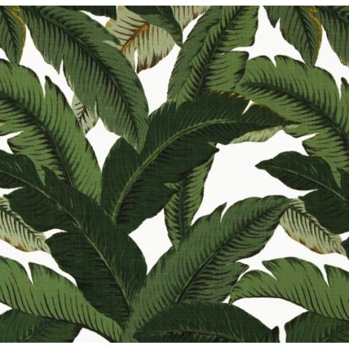 Swaying Palm Outdoor fabric available in store now at Fabric Traders.