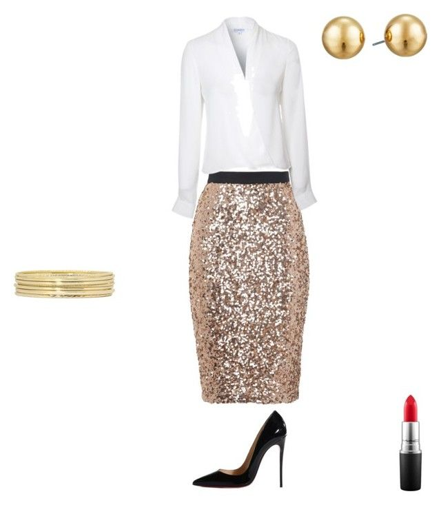 """""""Untitled #4"""" by temra-taylor on Polyvore featuring French Connection, Lipsy, Christian Louboutin, Liz Claiborne, Lauren Ralph Lauren and MAC Cosmetics"""