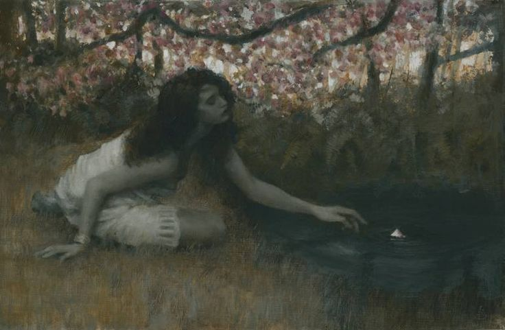 "Saatchi Art Artist Fletcher Sibthorp; Painting, ""A Small Beautiful Thing Catches the Eye study"" #art"