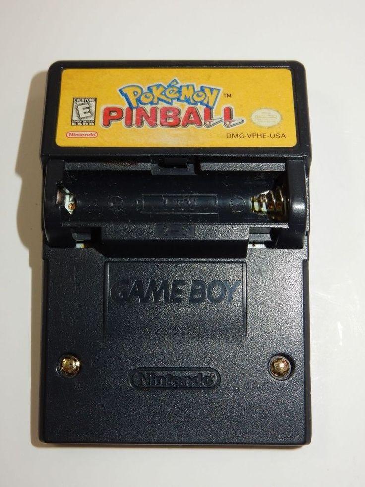 Pokemon Pinball (Nintendo Game Boy Color, 1999) CARTRIDGE ONLY