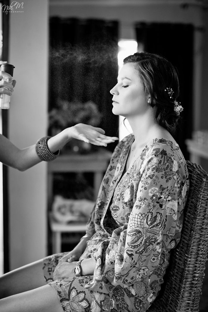 Inga and Nico's Rose Barn Wedding  #MAC #fixingspray for #bridalmakeup.  Makeup - Marike de Groot, Hair - Samuel Beck, Photography - Niki M, Venue - The Rosebarn, South Africa