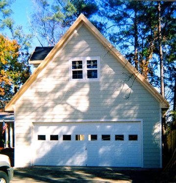69 best images about garage additions on pinterest shop for Two story garage with loft