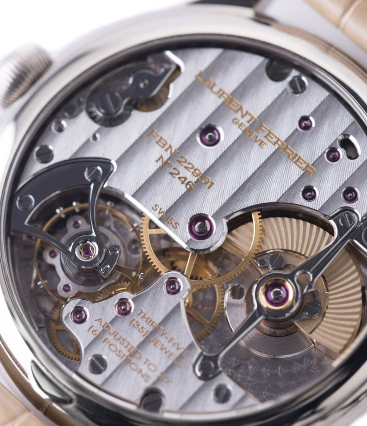 Laurent Ferrier Galet Micro-Rotor LF229.01 blue dial white gold watch at A Collected Man London