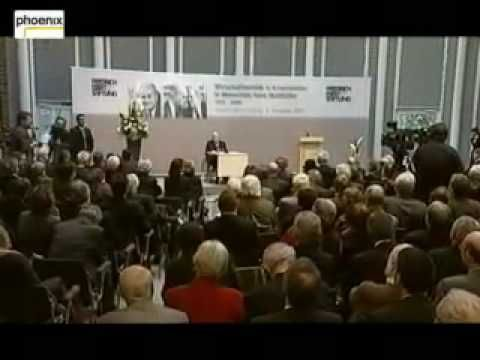"""""""Wirtschaftspolitik in Krisenzeiten"""" - Diskussion mit  Bundeskanzler a.D..."""