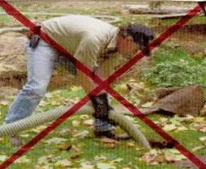Septic system maintenance for septic tank problems, drainfield problems and leachfield problems