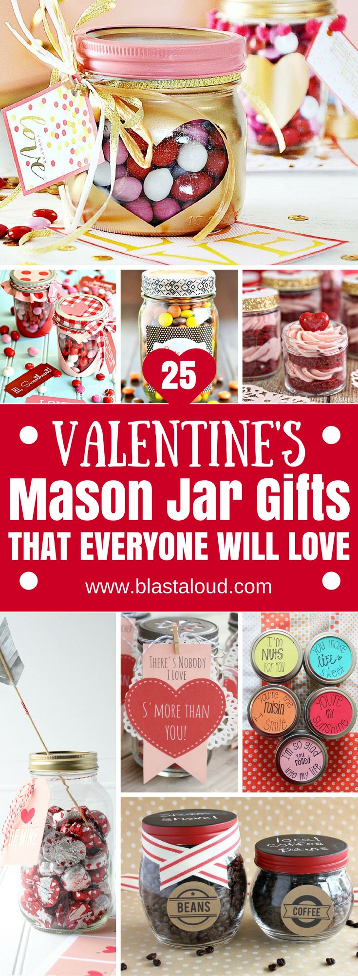 Wow absolutely love these valentines mason jar gifts! Definitely pinning for later. Must try on valentines day for valentines gifts! #valentines #valentinesday #masonjars #valentinesgifts #valentinesideas