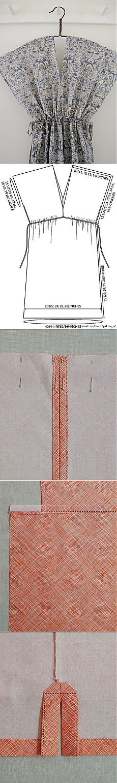 Túnica-coser tres versiones ..
