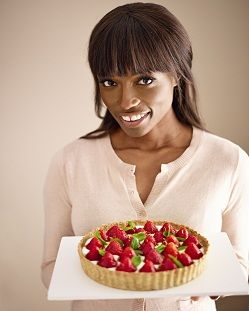 Lorraine Pascale's Strawberry open tart | World's Biggest Coffee Morning | Macmillan Cancer Support