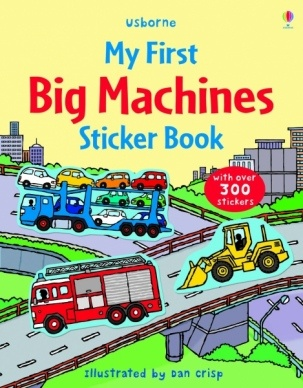 Usborne Big Machines Sticker Book