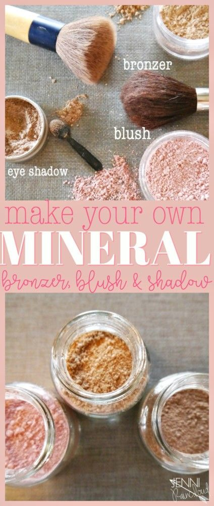 DIY Bronzer, Blush and Shadow
