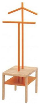 Inova Team -Modern Coat Rack, Orange contemporary-coatracks-and-umbrella-stands