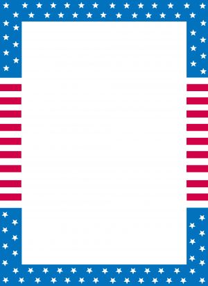 2bdfac524ced American Flag Writing Paper