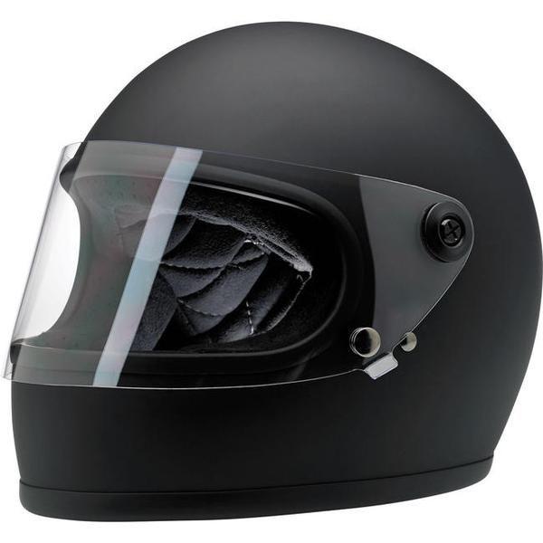 Biltwell Gringo S hjelm -Flat black