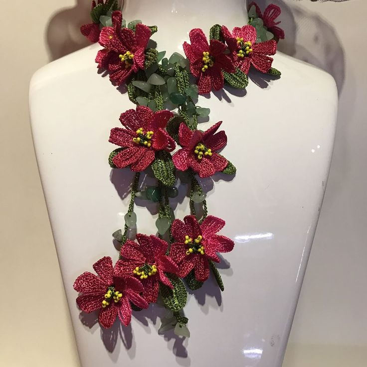 New Women Necklace Crochet Handmade Unique free shipping earring gift    eBay