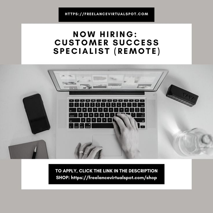 NOW HIRING Customer Success Specialist (remote) To apply
