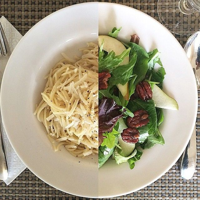Greens with pears and spiced pecans & Spaghetti Cacio e Pepe #healthyeating #yummers #yumm @zimmysnook