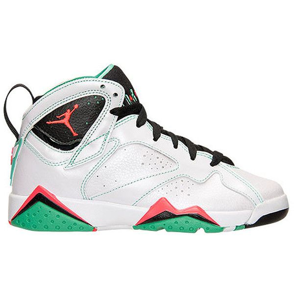 A New Air Jordan 7 Colorway for the Kids ❤ liked on Polyvore featuring shoes ,