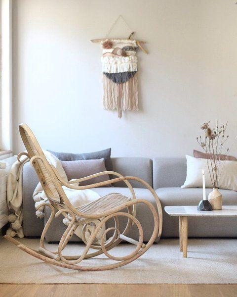Die besten 25+ skandinavische Schaukelstühle Ideen auf Pinterest - skandinavisch wohnen wohnzimmer