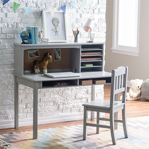 Groovy Kidkraft Study Desk With Side Drawers And Chair Projects Unemploymentrelief Wooden Chair Designs For Living Room Unemploymentrelieforg