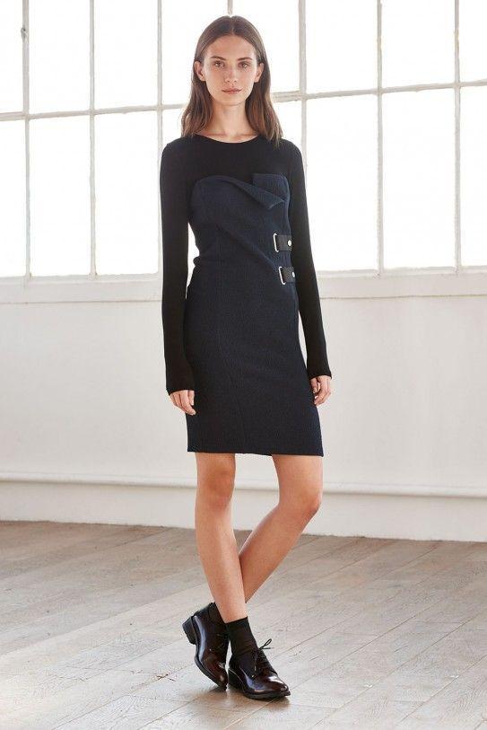 Robe bustier avec top en maille fine RISU cop.copine - boutique en ligne officielle