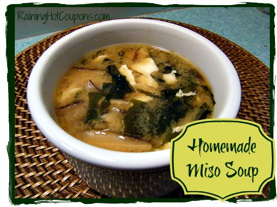 Homemade Miso Soup Recipe ~ Simple and Healthy