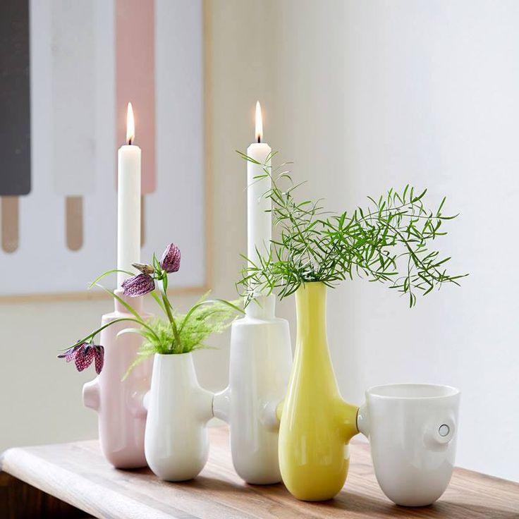Lækre vaser fra Kähler. Fiducia.