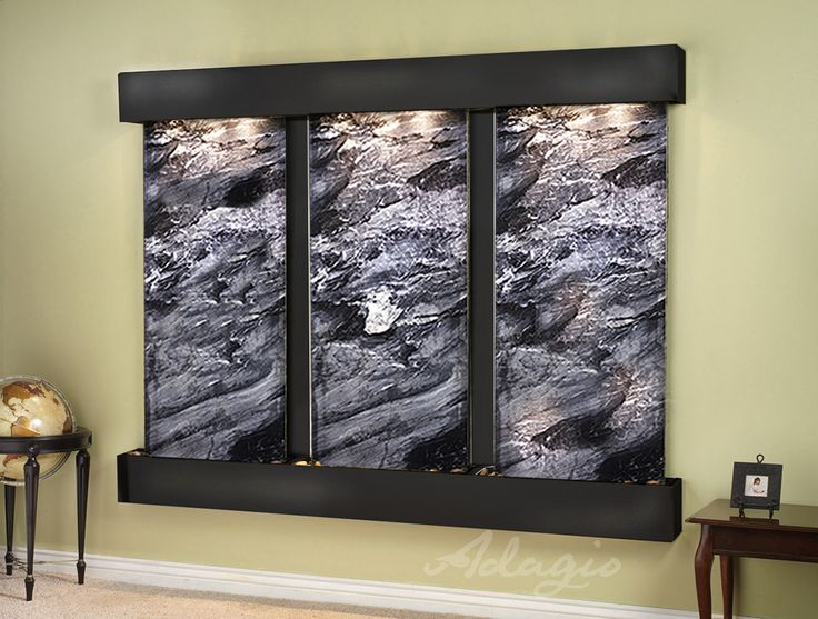 Indoor Waterfalls For Home #32: An Indoor Waterfall For The Home And Gives Elegance. Have You Heard Placing A Decorative